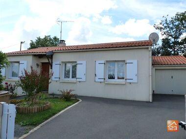 Vente Maison 4 pièces 78m² Poiroux (85440) - photo