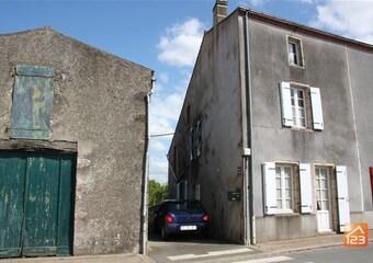 Vente Maison 2 pièces 80m² Les Châtelliers-Châteaumur (85700) - photo