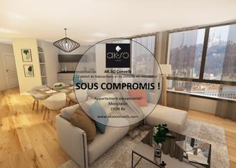 Vente Appartement 2 pièces 41m² Lyon 08 (69008) - photo