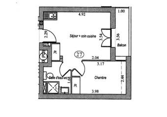 Vente Appartement 2 pièces 31m² Villebon sur yvette - Photo 1
