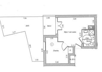 Vente Appartement 2 pièces 41m² Villebon sur yvette - Photo 1
