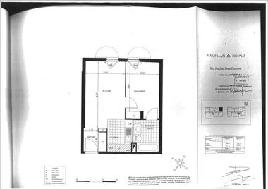 Location Appartement 2 pièces 40m² Massy (91300) - photo