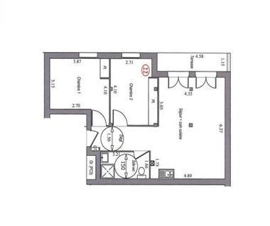 Vente Appartement 3 pièces 65m² Villebon-sur-Yvette (91140) - photo