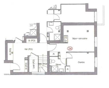 Vente Appartement 2 pièces 33m² Villebon-sur-Yvette (91140) - photo