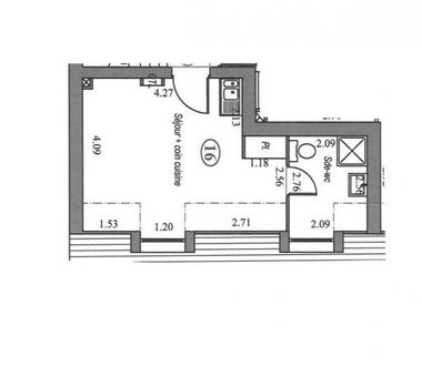 Vente Appartement 1 pièce 22m² Villebon-sur-Yvette (91140) - photo