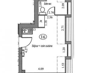 Vente Appartement 1 pièce 22m² Villebon sur yvette - photo