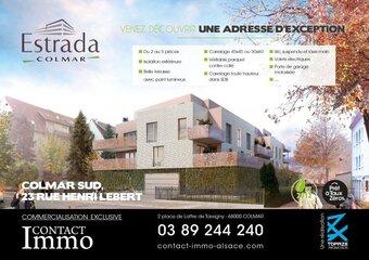 Vente Appartement 2 pièces 45m² Colmar (68000) - photo