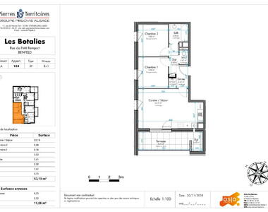 Vente Appartement 3 pièces Benfeld (67230) - photo