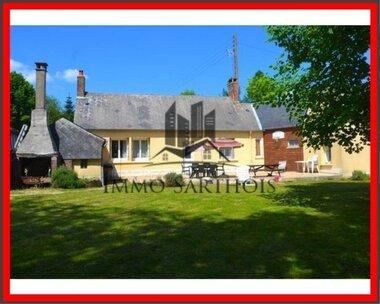 Vente Maison 6 pièces 105m² Le Grand-Lucé (72150) - photo