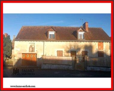 Vente Maison 5 pièces 102m² Mayet (72360) - photo