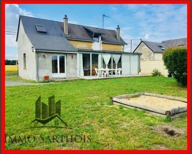 Vente Maison 3 pièces 108m² Luché-Pringé (72800) - photo
