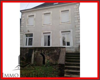 Vente Maison 6 pièces 123m² chateau du loir - photo