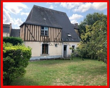 Vente Maison 5 pièces 201m² Le Grand-Lucé (72150) - photo