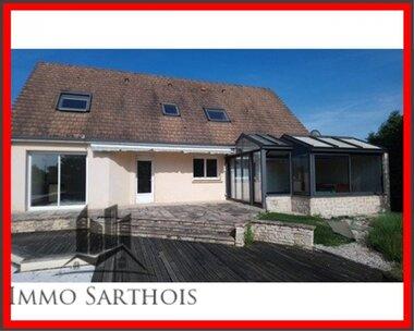 Vente Maison 11 pièces 175m² Cérans-Foulletourte (72330) - photo