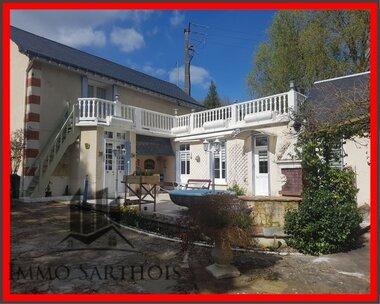Vente Maison 6 pièces 159m² Château-du-Loir (72500) - photo