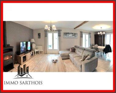 Vente Maison 4 pièces 123m² Vaas (72500) - photo