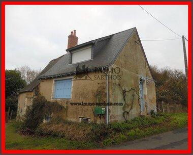 Vente Maison 2 pièces 49m² Nogent-sur-Loir (72500) - photo