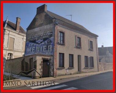 Vente Maison 6 pièces 120m² Saint-Calais (72120) - photo