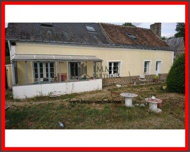 Vente Maison 5 pièces 105m² Château-du-Loir (72500) - photo