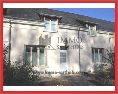Vente Maison 5 pièces 140m² La Chartre-sur-le-Loir (72340) - photo