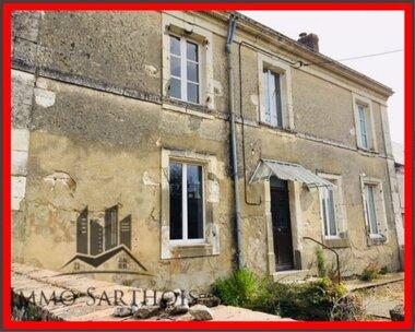 Vente Maison 6 pièces 150m² Mayet (72360) - photo
