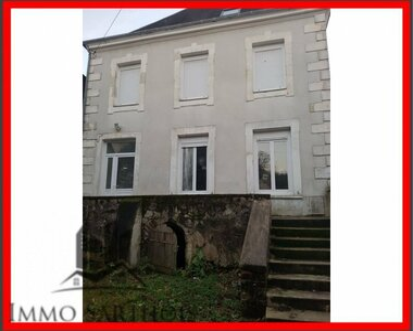 Vente Maison 6 pièces 123m² Château-du-Loir (72500) - photo