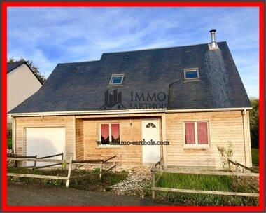 Vente Maison 8 pièces 101m² Saint-Vincent-du-Lorouër (72150) - photo