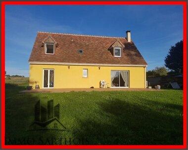 Vente Maison 7 pièces 148m² Mayet (72360) - photo