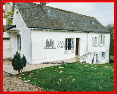 Vente Maison 4 pièces 116m² Vaas (72500) - photo