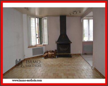 Vente Maison 3 pièces 64m² Marigné-Laillé (72220) - photo