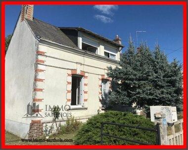 Vente Maison 3 pièces 80m² Bessé-sur-Braye (72310) - photo