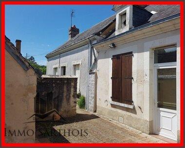 Vente Maison 4 pièces 80m² Pontvallain (72510) - photo