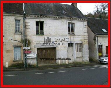Vente Maison 3 pièces 40m² La Chartre-sur-le-Loir (72340) - photo