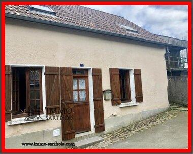 Vente Maison 3 pièces 63m² Le Grand-Lucé (72150) - photo
