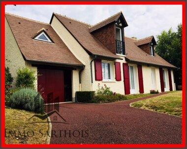 Vente Maison 7 pièces 141m² Saint-Gervais-en-Belin (72220) - photo
