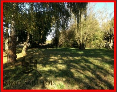 Vente Terrain 1 069m² Requeil (72510) - photo