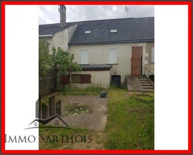 Vente Maison 4 pièces 55m² Château-du-Loir (72500) - photo