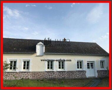 Vente Maison 3 pièces 75m² Aubigné-Racan (72800) - photo