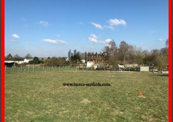 Vente Terrain 750m² Mansigné (72510) - photo