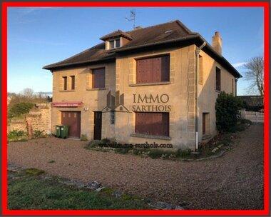 Vente Maison 4 pièces 154m² La Chartre-sur-le-Loir (72340) - photo