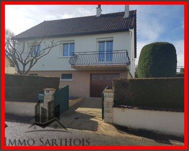 Vente Maison 4 pièces 75m² Bessé-sur-Braye (72310) - photo