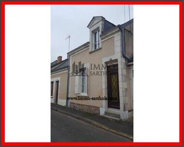 Vente Maison 4 pièces 107m² Le Lude (72800) - photo