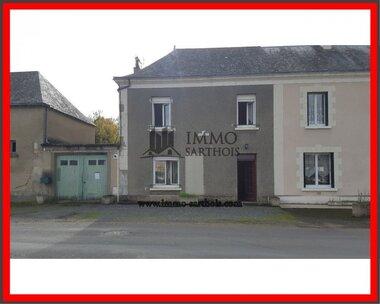 Vente Maison 5 pièces 112m² Aubigné-Racan (72800) - photo