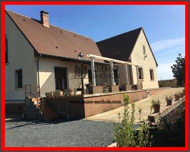 Vente Maison 6 pièces 143m² Requeil (72510) - photo