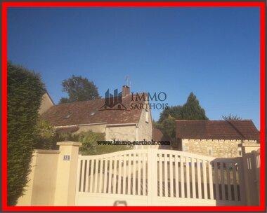 Vente Maison 4 pièces 127m² Mayet (72360) - photo