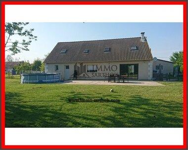 Vente Maison 8 pièces 165m² Pernay (37230) - photo