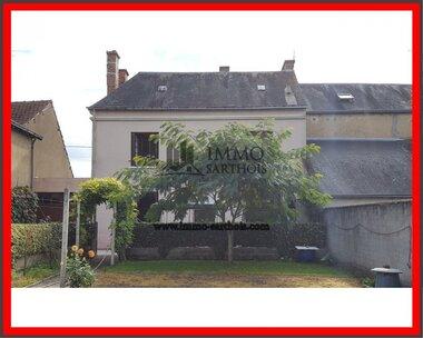 Vente Maison 7 pièces 131m² Château-du-Loir (72500) - photo