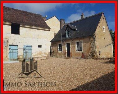 Vente Maison 2 pièces 45m² La Chartre-sur-le-Loir (72340) - photo