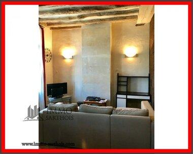 Vente Maison 3 pièces 80m² La Chartre-sur-le-Loir (72340) - photo