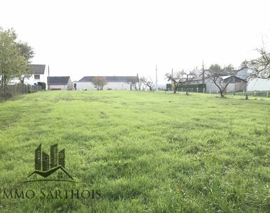 Vente Terrain 3 046m² mayet - photo